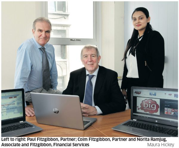 Fitzgibbon Financial Services – Serving some financial help